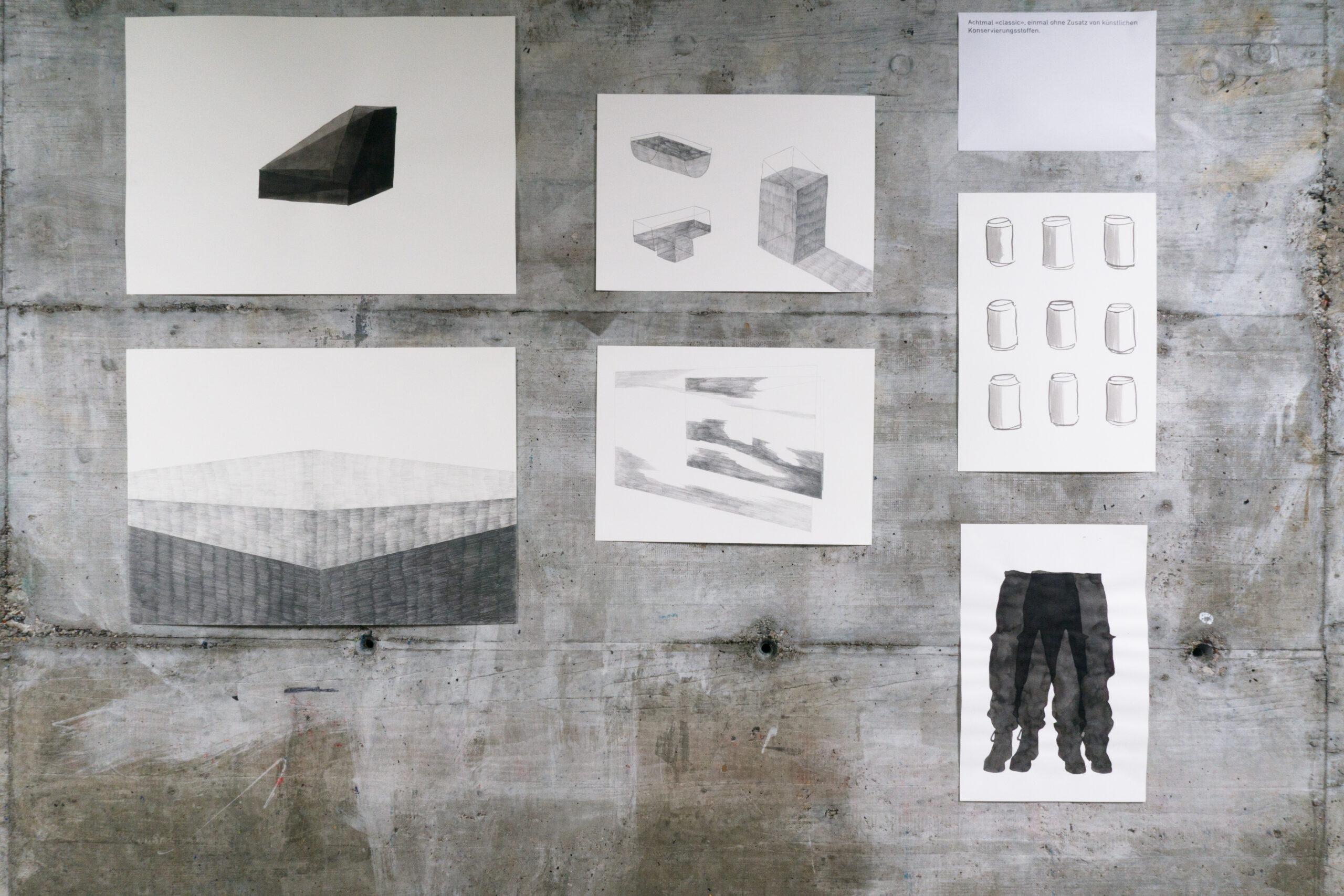 Ausstellung Atelier Hard-Schulhaus