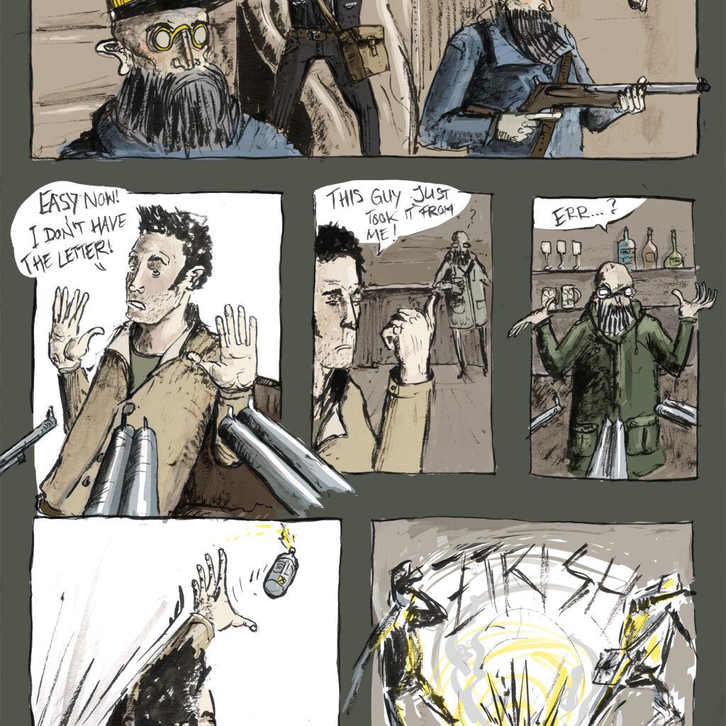 """""""Unendlich-Comic"""" mit Etienne Mory"""